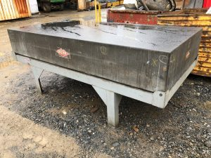 14 Quot Rahn Granite Surface Plate Inspection Table W Stand