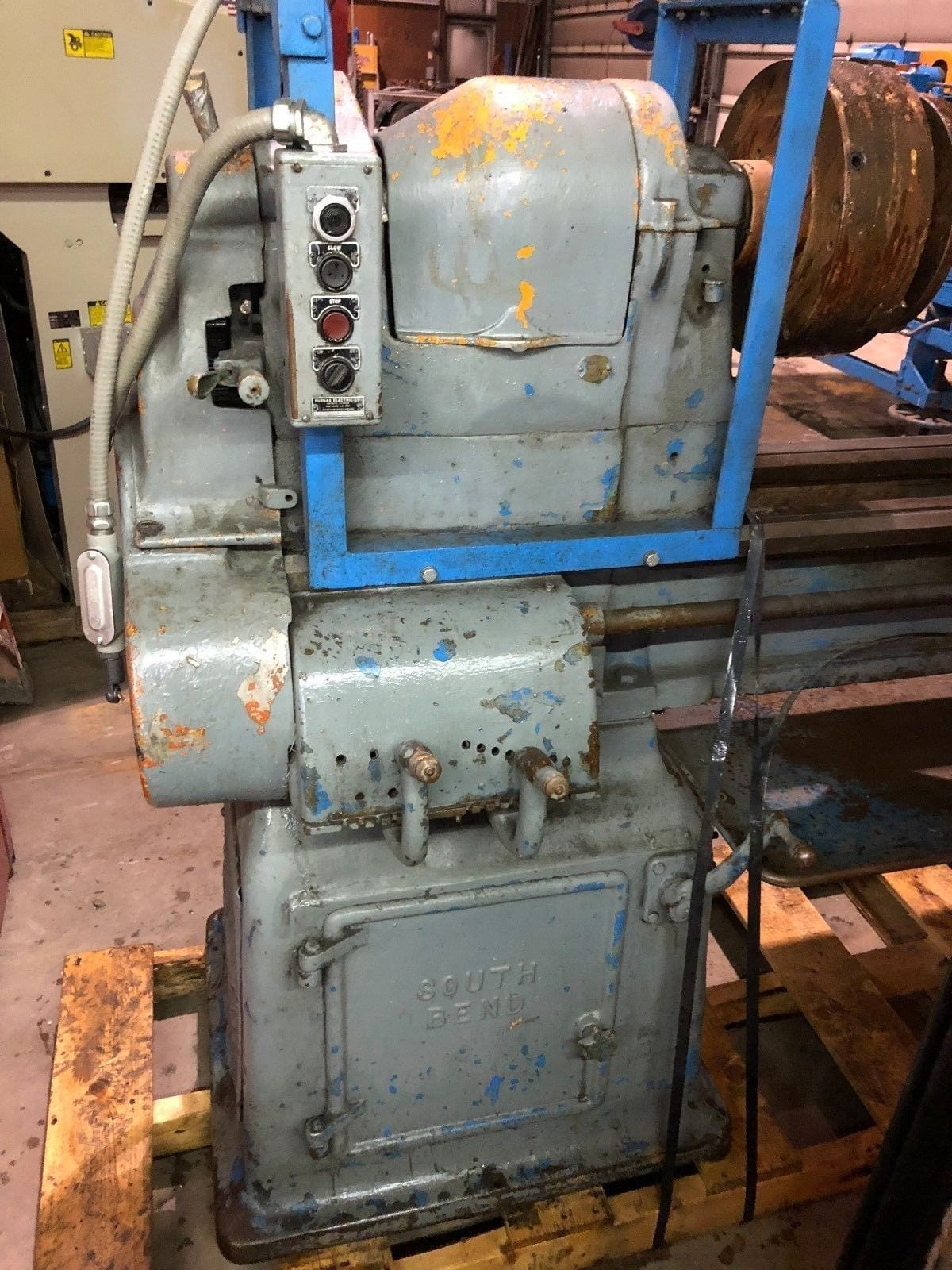 Used 12 5 x 75 South Bend Engine Lathe / Tubing Facer 12