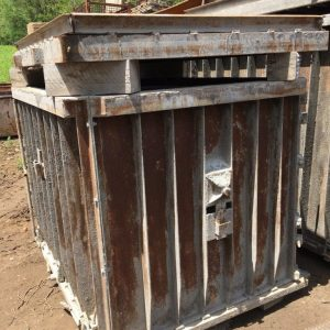 Used-Pre-Cast-Concrete-Inlet-Culvert-Septic-Tank-Form-600-Gallon-142370289920