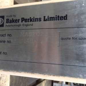 Baker-Perkins-Limited-148-119-Stainless-Steel-Industrial-Food-Processing-Mixer-142596843772-5