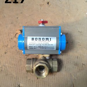 Bonomi-8P0130-3-Way-L-Port-1-FNPT-Brass-DA-Actuated-Ball-Valve-142778882282