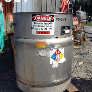 Clawson-Container-Company-304L-Stainless-Steel-Chemical-Storage-Tank-275-Gallons-192273040422