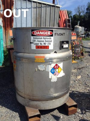 Clawson Container 304l Stainless Steel Chemical Storage