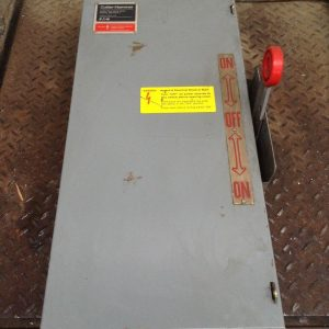 Cutler-Hammer-DT363UGK-Double-Throw-Safety-Transfer-Disconnect-Switch-100A-142656839442