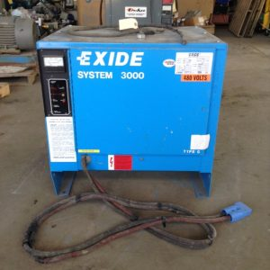 Exide-G3-24-865-Type-LA-Forklift-Battery-Charger-48V-195A-3PH-24-Cell-132341792462