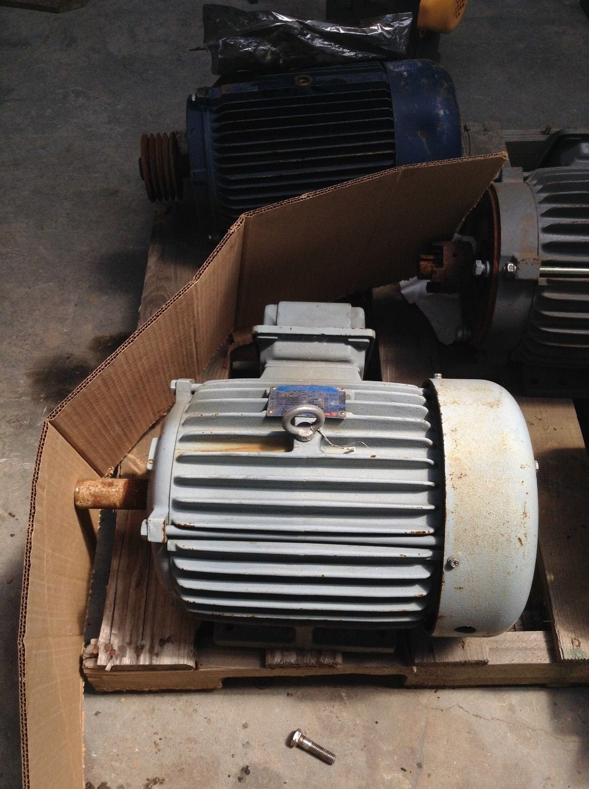 Teco westinghouse type aehe 10hp electric motor 3525rpm for Westinghouse ac motor 1 3 hp