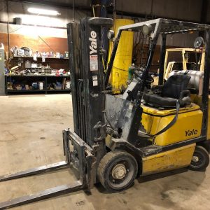 Used-4800-Yale-GLC050-LP-Propane-Forklift-HiLo-Fork-Truck-3-Stage-Mast-192515786892