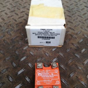 Continental-Industries-S505-0SJ601-015-Solid-State-Relay-38-15VDC-NIB-192613094523