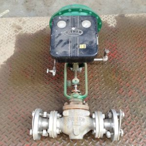 Fisher-Type-667-1-12-Cast-Iron-Diaphragm-Actuated-Globe-Control-Valve-192523549313