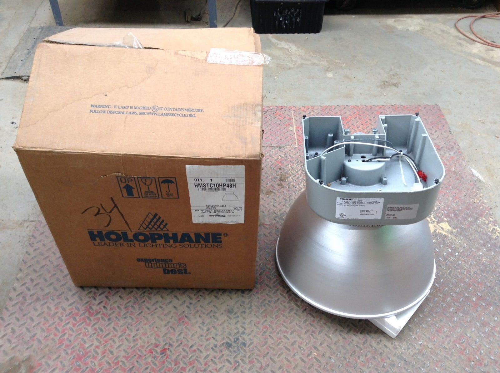 holophane hmstc10hp48h high mast reflector assembly light 1000w 480v rh  mbglick com