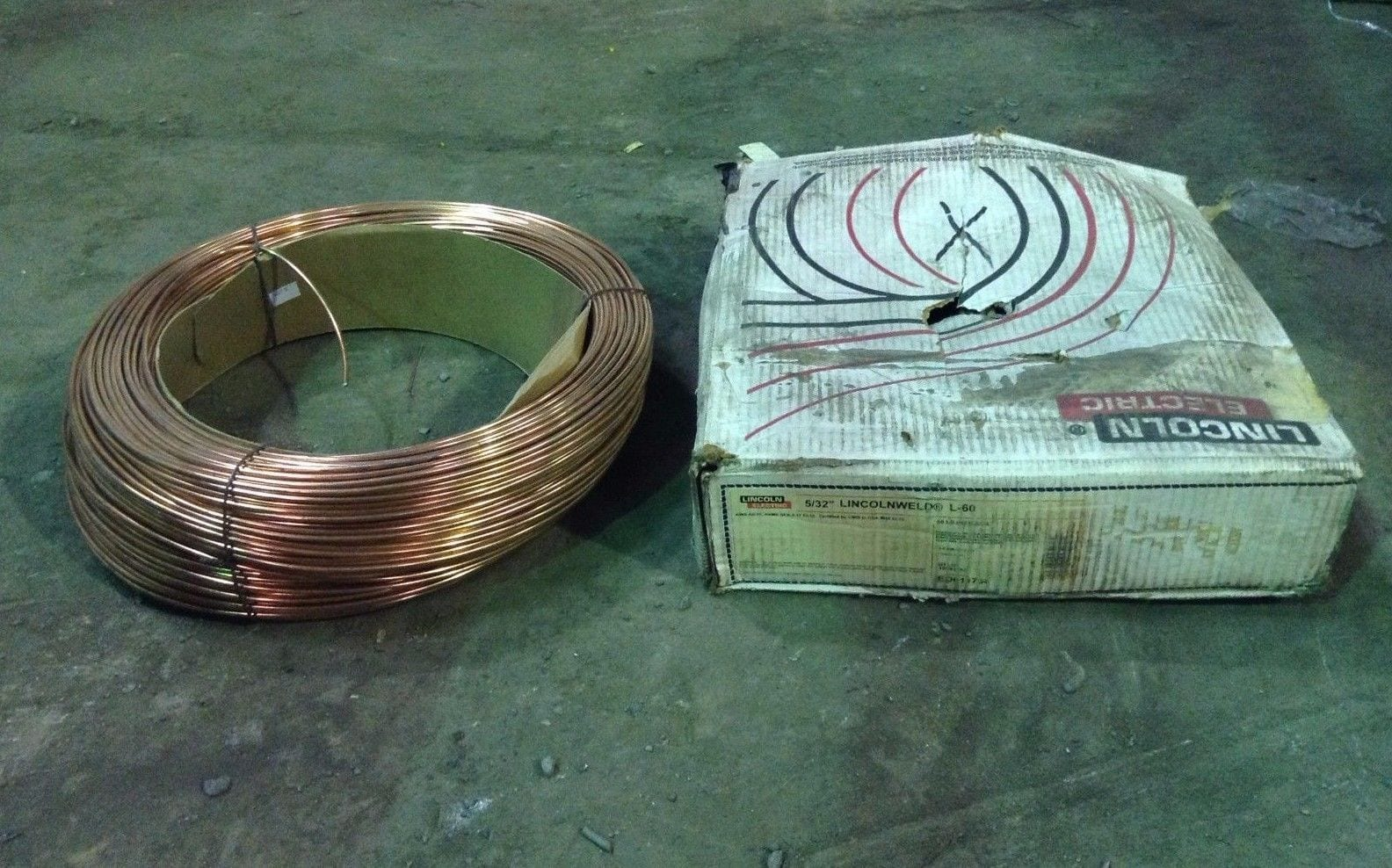 Lincoln Electric Lincolnweld L-60 ED011758 Mig Welding Wire 5/32 ...