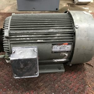 US-Electrical-Motor-Unimount-High-Efficiency-15HP-PH3-HZ60-175-Shaft-132467743683