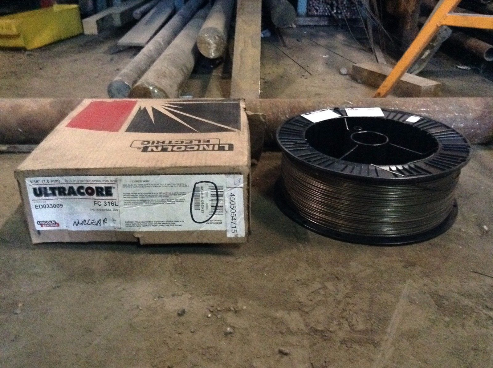 Lincoln Electric Ultracore FC 316L Stainless Steel MIG Welding Wire ...