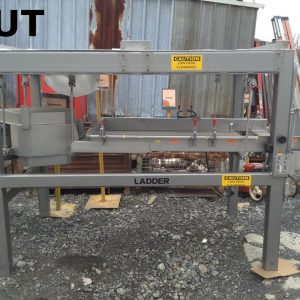 Smalley-Auto-Glide-Ladder-Stainless-Steel-Vibratory-Shaker-Conveyor-Table-142624084754