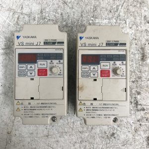 Yaskawa-VS-Mini-J7-Drive-Model-CIMR-J7AA20P1-200V-3-PH-LOT-OF-2-132541735774