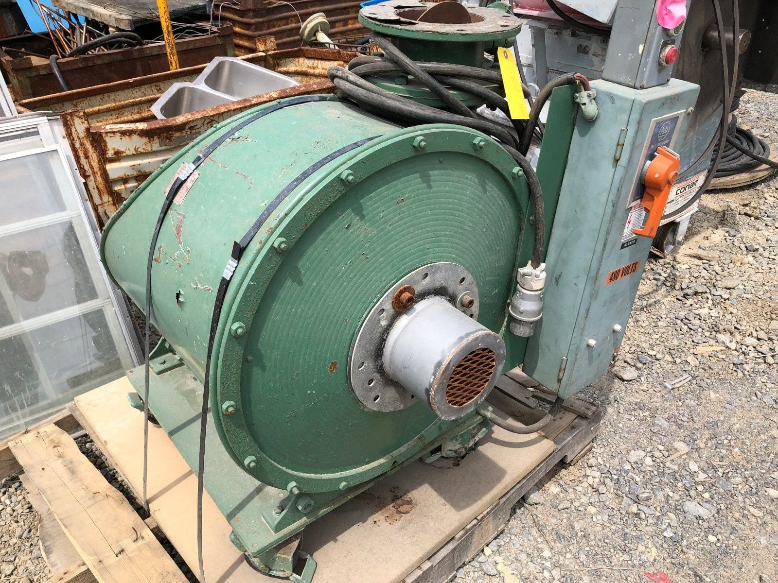 3 Hp Spencer 1003 Turbine Centrifugal Multistage Vacuum Blower 400CFM