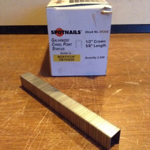 Spotnails-91210-Galanized-Chisel-Point-Staples-12-Crown-58-L-2500pc-Box-NIB-192345142015