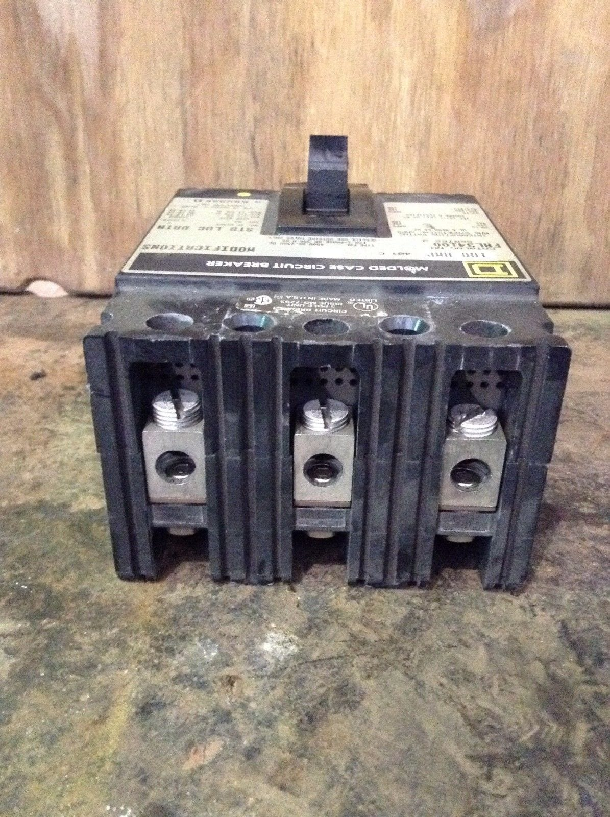 Square D Fal34100 100a Mcb Miniature Circuit Breaker 480vac 250vdc Working Of How Works