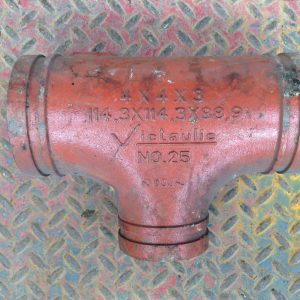 Victaulic-No-25-4-X-4-X-3-Carbon-Steel-Grooved-End-Tee-Pipe-Fitting-192265217825