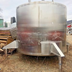 Watson-4000-Gallon-316-Stainless-Steel-Process-Tank-SS-Vertical-Storage-Tank-132471764605