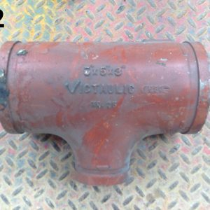 Victaulic-No-25-5-X-5-X-3-Carbon-Steel-Grooved-End-Tee-Pipe-Fitting-192265215716