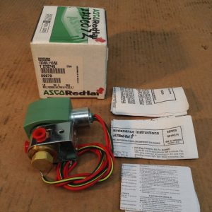 ASCO-Red-Hat-II-8320G003-3-Way-18-Brass-Solenoid-Valve-120110V-30PSI-NIB-132590724067