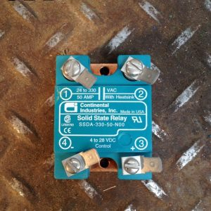 Continental-Industries-SSDA-330-50-N00-50A-Sold-State-Relay-24-330VAC-4-28VDC-132649636527