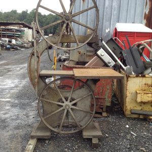 General-Machinery-15-VINTAGE-Vertical-Band-Saw-w-32-X-28-Table-36-Throat-142891963267