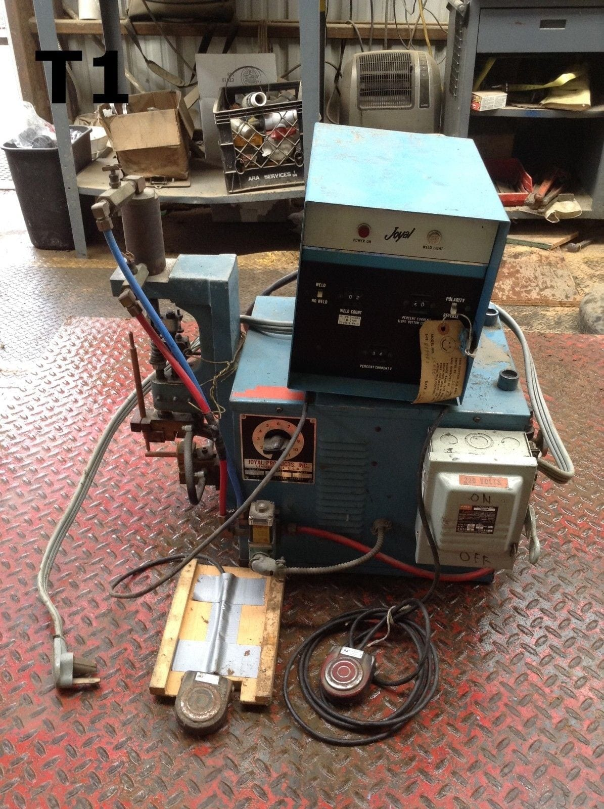 Joyal Products Ej 5kva Spot Welder 220v 1ph W 35edc Control Moses Controller Board Pcb Without Components