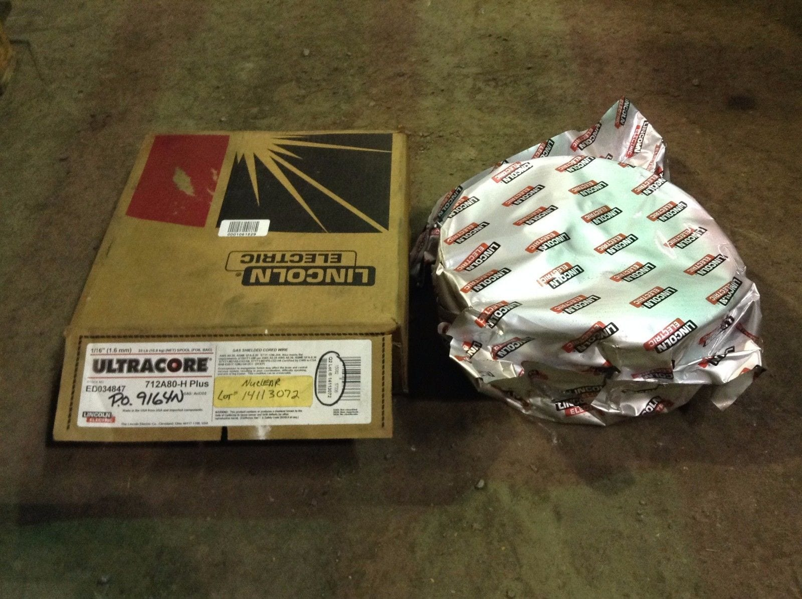 Generous Lincoln Mig Welding Wire Photos - Electrical Circuit ...