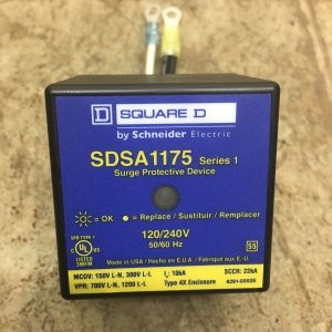 Used-Schneider-Square-D-SDSA1175-Surge-Protector-Protection-Device-120240V-191923165317