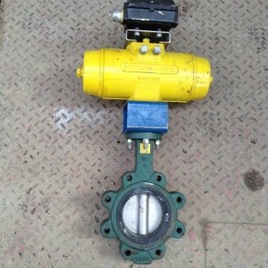 Centerline-63-4-Ductile-Iron-Pneumatic-Wafer-Butterfly-Valve-120PSI-Act-142722685528