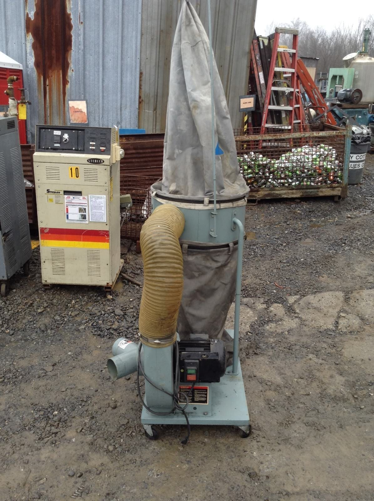 Delta 50-850 1-1/2HP Portable Wood Dust Collector 3450RPM ...