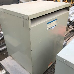 GE-General-Electric-9T23B3877-Transformer-3PH-225KVA-480V-Delta-208Y120-132587215358