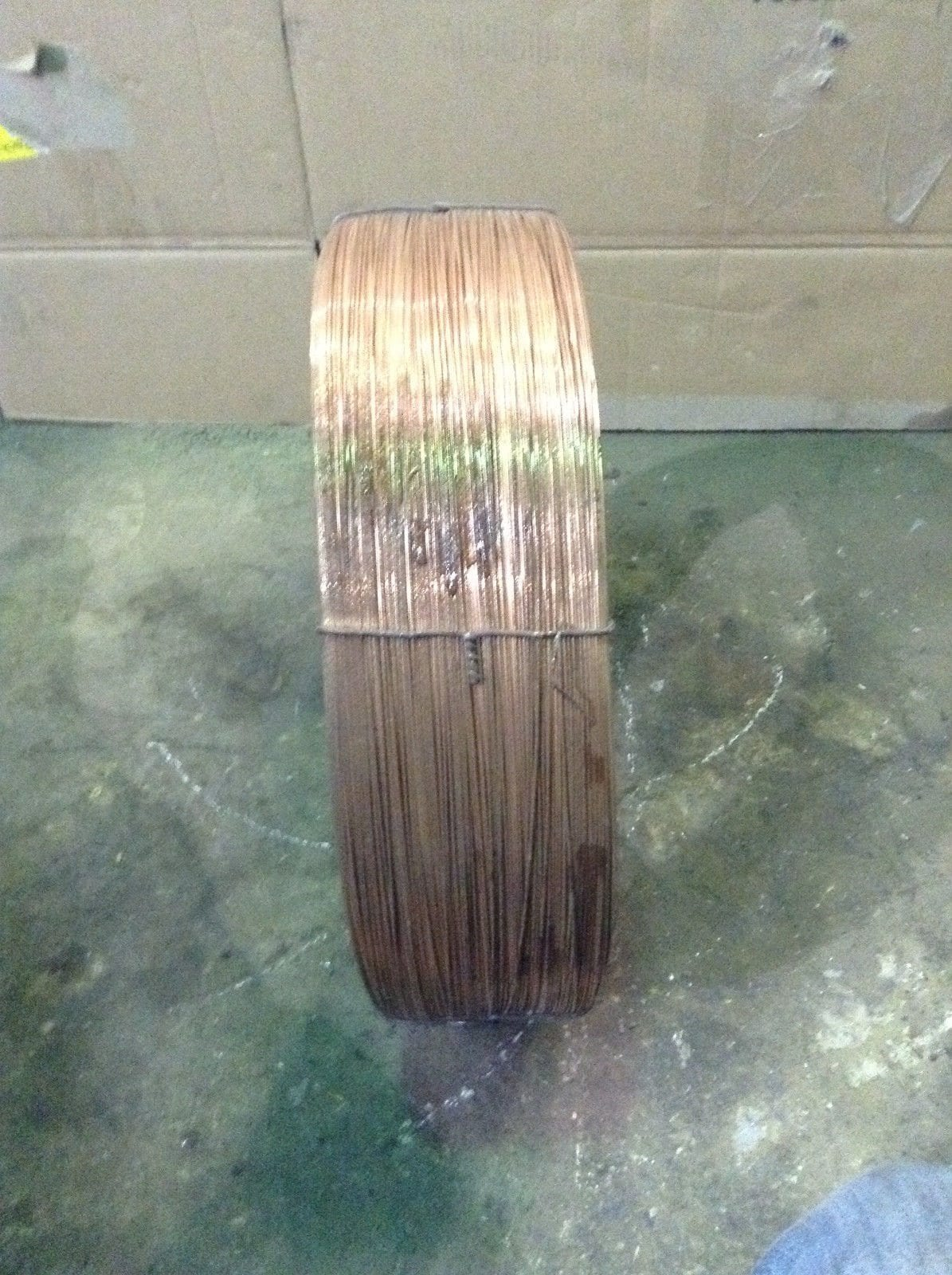 Lincoln electric l copper coated mild steel welding
