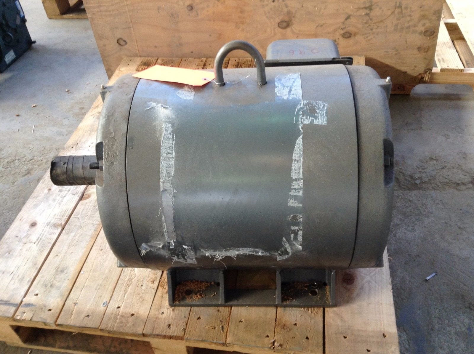 Lincoln motors sd4p60t61y 60hp electric motor 3ph 230 460v for 60 hp electric motor