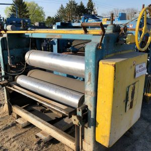 Used-56-Web-Roll-Coater-3-Roll-Vertical-Calender-Stack-12-9-Rolls-142781246198