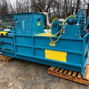 10HP-Maren-423-Horizontal-30-Closed-Door-Baler-TrashPaper-Compactor-132597540239