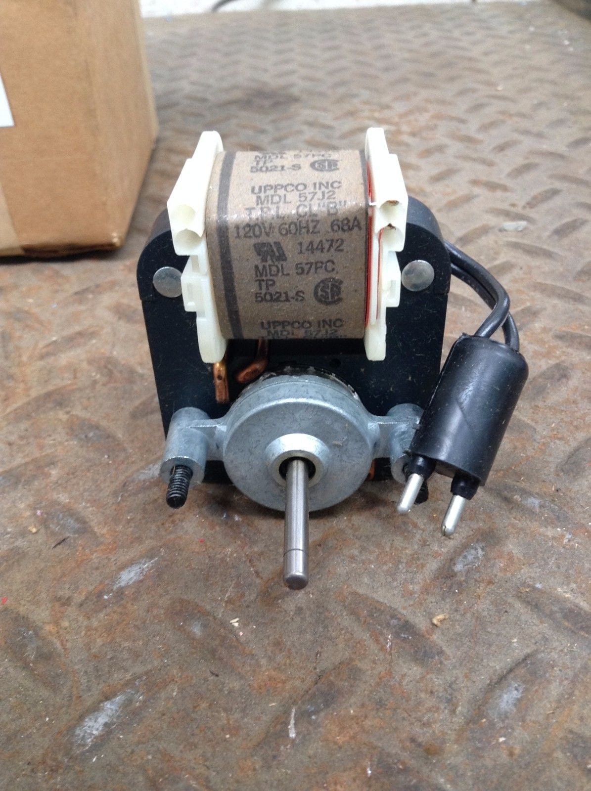Heatcraft 8990011 mdl 57pc replacement fan gear motor 1 for 1 5 hp 120v electric motor
