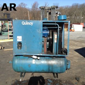 Quincy-30-HP-Rotary-Screw-Air-Compressor-w-200PSI-180-Gallon-Tank-142590678649