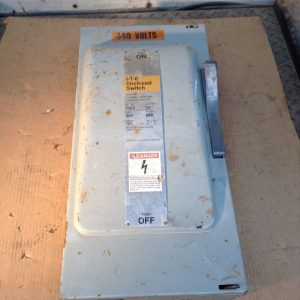 Siemens-ITE-F353-Non-Fusible-Single-Throw-Disconnect-Switch-100A-600V-3PH-Type1-132633592999