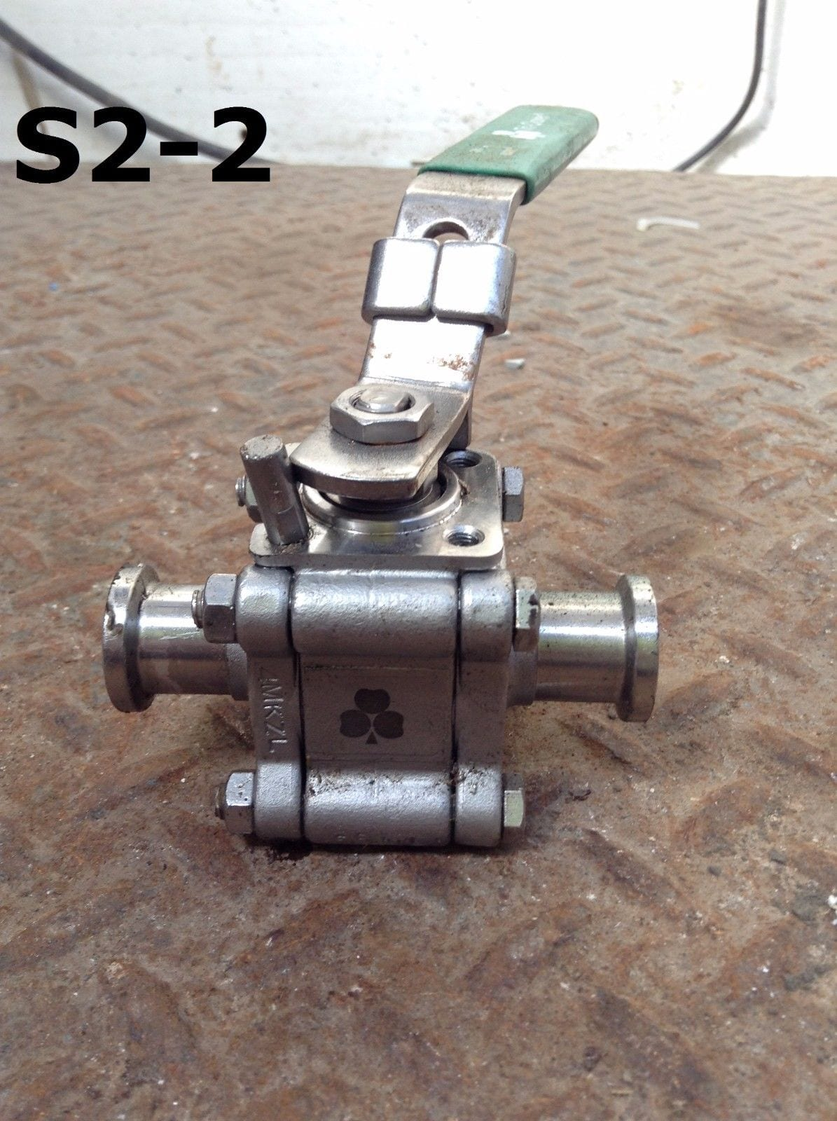 Tri clover quot l stainless steel manual sanitary ball